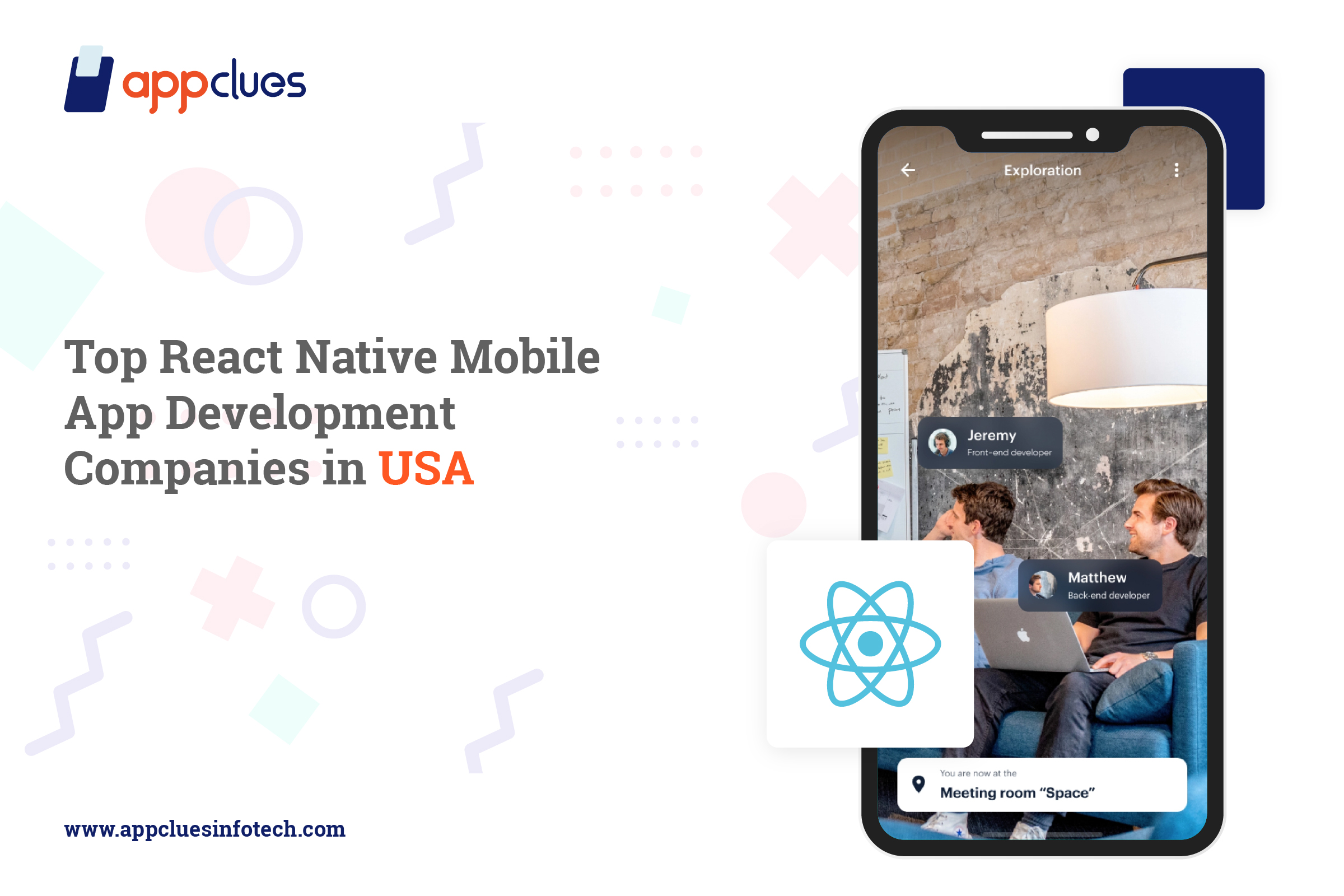 Top react native mobile app development companies in USA
